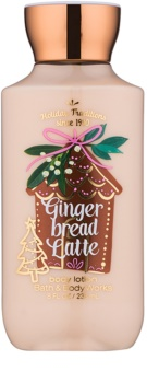 Bath & Body Works Gingerbread Latte leche corporal para mujer 236 ml