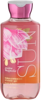 Bath & Body Works Golden Magnolia Sun gel de duche para mulheres