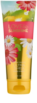 Bath & Body Works Love and Sunshine crema corporal para mujer 226 g