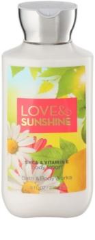 Bath & Body Works Love and Sunshine leche corporal para mujer 236 ml