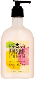 Bath & Body Works Lemon Pomegranate leche corporal para mujer 236 ml