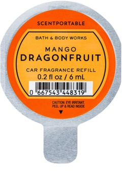 Bath & Body Works Mango Dragonfruit ambientador de coche para ventilación 6 ml recarga de recambio