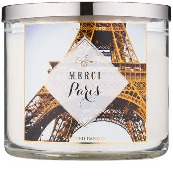 Bath & Body Works Merci Paris vela perfumada  411 g