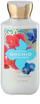 Bath & Body Works Morocco Orchid & Pink Amber leite corporal para mulheres 236 ml