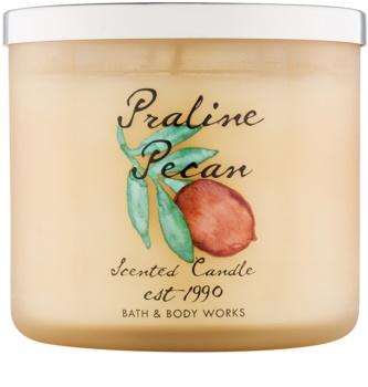 Bath & Body Works Praline Pecan vela perfumado 411 g