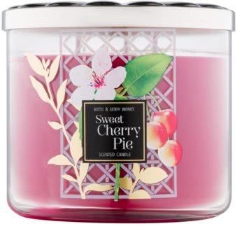 Bath & Body Works Sweet Cherry Pie vela perfumado 411 g