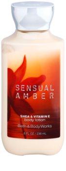 Bath & Body Works Sensual Amber leite corporal para mulheres