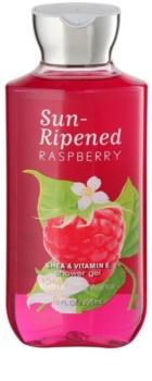 Bath & Body Works Sun Ripened Raspberry sprchový gel pro ženy 295 ml