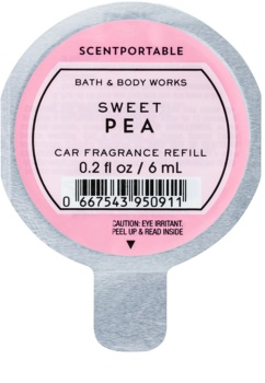 Bath & Body Works Sweet Pea autoduft Ersatzfüllung
