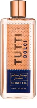 Bath & Body Works Tutti Dolci Golden Honey Praline gel de duche para mulheres