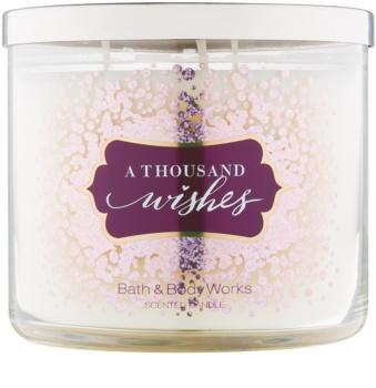 Bath & Body Works A Thousand Wishes bougie parfumée