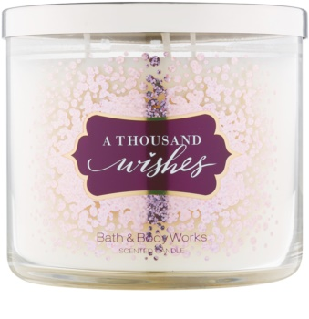 Bath & Body Works A Thousand Wishes illatos gyertya