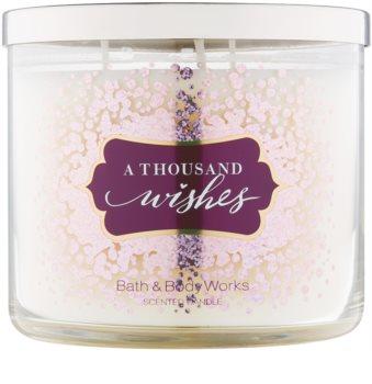Bath & Body Works A Thousand Wishes vonná sviečka