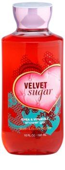 Bath & Body Works Velvet Sugar gel de duche para mulheres 295 ml