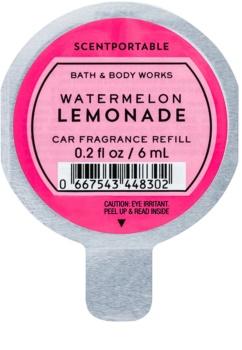 Bath & Body Works Watermelon Lemonade ambientador de coche para ventilación recarga de recambio