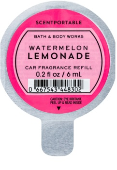 Bath & Body Works Watermelon Lemonade illat autóba utántöltő