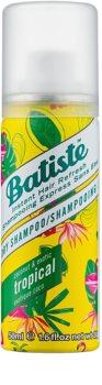 Batiste Fragrance Tropical Kuivashampoo Voimakkuudelle ja Kiillolle