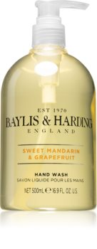 Baylis & Harding Sweet Mandarin & Grapefruit flüssige Seife für die Hände