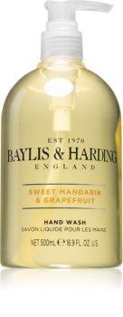 Baylis & Harding Sweet Mandarin & Grapefruit sabão liquido para mãos