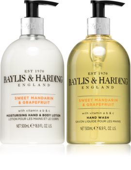 Baylis & Harding Sweet Mandarin & Grapefruit kozmetikai szett a hidratált bőrért