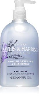 Baylis & Harding English Lavender & Chamomile flüssige Seife für die Hände