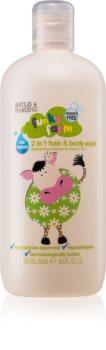 Baylis & Harding Funky Farm Shampoo og brusegel til børn