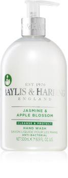 Baylis & Harding Jasmine & Apple Blossom καθαριστικό υγροσάπουνο για χέρια με αντιβακτηριακό συστατικό