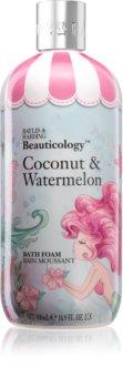 Baylis & Harding Beauticology Coconut & Watermelon spuma de baie