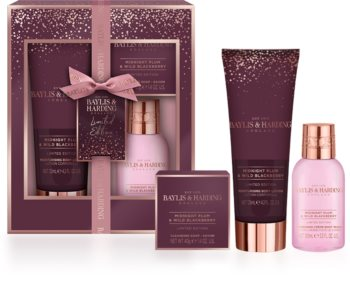 Baylis & Harding Midnight Plum & Wild Blackberry Gift Set IV.