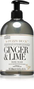 Baylis & Harding The Fuzzy Duck Ginger & Lime flüssige Seife für die Hände