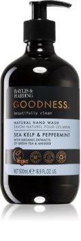 Baylis & Harding Goodness Sea Kelp & Peppermint natürliche Flüssigseife für die Hände