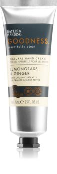 Baylis & Harding Goodness Lemongrass & Ginger naturalny krem do rąk