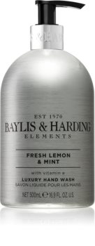 Baylis & Harding Elements Fresh Lemon & Mint Săpun lichid pentru mâini