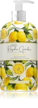 Baylis & Harding Royale Garden Lemon & Basil flüssige Seife für die Hände