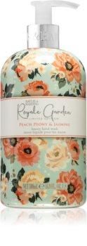 Baylis & Harding Royale Garden Peach Peony & Jasmine flüssige Seife für die Hände