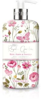 Baylis & Harding Royale Garden Rose, Poppy & Vanilla mydło do rąk w płynie