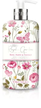 Baylis & Harding Royale Garden Rose, Poppy & Vanilla tekuté mydlo na ruky