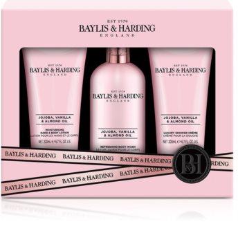Baylis & Harding Jojoba, Vanilla & Almond Oil подаръчен комплект (с бадемово масло)