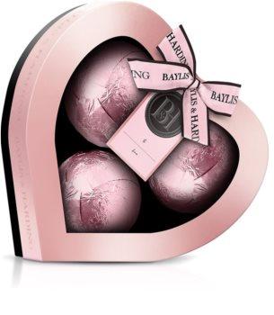 Baylis & Harding Jojoba, Vanilla & Almond Oil bomba da bagno (confezione regalo)