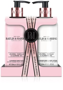 Baylis & Harding Jojoba, Vanilla & Almond Oil Gift Set (for Hands)
