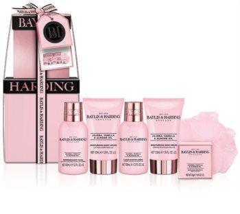 Baylis & Harding Jojoba, Vanilla & Almond Oil Gift Set (For Hydrating And Firming Skin)
