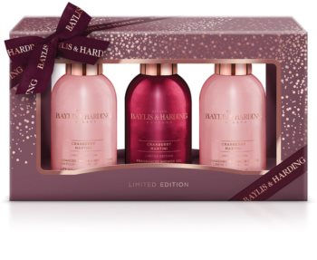 Baylis & Harding Cranberry Martini Gift Set (with Nourishing and Moisturizing Effect)