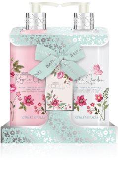 Baylis & Harding Royale Garden Rose, Poppy & Vanilla coffret cadeau (mains)