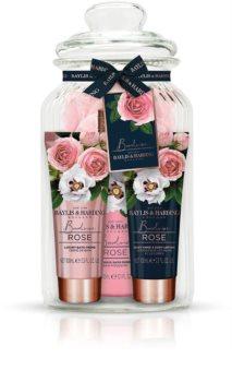 Baylis & Harding Boudoir Rose ajándékszett (rózsa illattal)