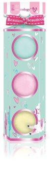 Baylis & Harding Beauticology Llama бомбочка для ванны (подарочный набор)