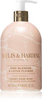 Baylis & Harding Elements Pink Blossom & Lotus Flower flüssige Seife für die Hände