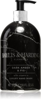 Baylis & Harding Elements Dark Amber & Fig flüssige Seife für die Hände