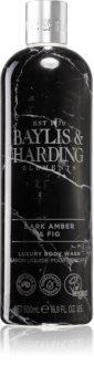 Baylis & Harding Elements Dark Amber & Fig роскошный гель для душа