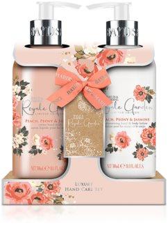 Baylis & Harding Royale Garden Peach, Peony & Jasmine coffret (para mãos e corpo)