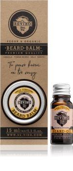 Beviro Men's Only Vanilla, Tonka Beans, Palo Santo kosmetická sada I. pro muže